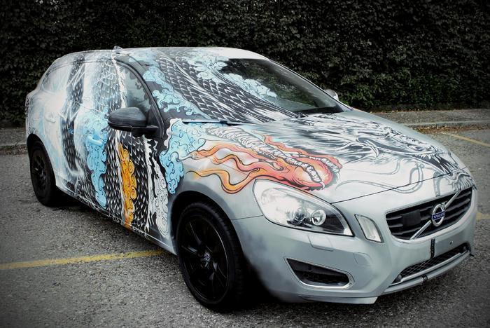 Volvo Life Painting 100 Design The Uk S Destination To Discover